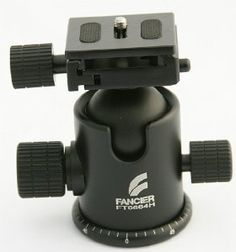 Pro Heavy Duty Ball Head Quick Release Photo Ball Head Tripod Grip Action Ball Head for Gitzo Manfroto by Fancier 6664H by Fancierstudio. $39.99. This is a high quality pro ball head with calibrated tension control for smooth precision movement. Independent control for pan and tilt movement.  This ball head is made from the latest metal (aluminum alloy) technology that provides super strong and sturdy construction and yet weighs only 1-1/4 lbs. a amazing 40% les...