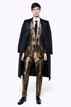 Hello, tailor.: Spring 2013 Menswear: Carven, Galliano, Demeulemeester, and McQueen.