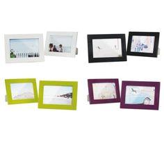 Trendiger Bilderrahmen im günstigen 2-er Pack - perfekt für Ihre Fotos