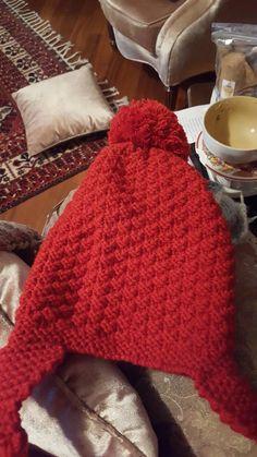 Kızımın kışlık şapkaları