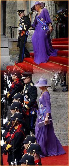 Koning W-Alexander en Koningin Maxima (NL) prinsjesdag