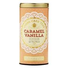Caramel Vanilla Cuppa Cake™ Tea Bags | The Republic of Tea - Taste the decadent flavors of old-fashioned Southern yellow cake with homemade caramel vanilla frosting.