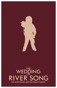 The Wedding of River Song // Doctor Who Poster // by TheGeekerie, $18.00