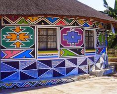 Luz para as luzes: Arte Ndebele - Esther Mahlangu