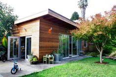 - contemporary - living room - other metro - Kevin Slagle Design+ Build Garage Studio, Home Studio, Converted Shed, Backyard Studio, Backyard Ideas, Pleasant View, Backyard Buildings, Big Houses, Cozy House