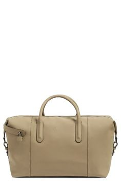 Free shipping and returns on Ted Baker London Cronos Leather Duffel Bag at Nordstrom.com. Smooth, supple leather defines a smart duffel bag with a spacious main compartment that's ideal for short trips.