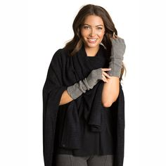 Barefoot Dreams® CozyChic Lite® Fingerless Gloves Barefoot Dreams, Fingerless Gloves, Holiday, Women, Style, Fashion, Fingerless Mitts, Swag, Moda