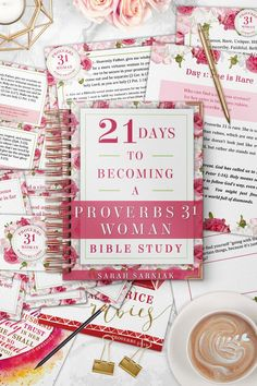 Get everything you need to dive deep into your Proverbs 31 Woman Bible Study with this printable bundle. Here's what you'll get: Printable PDF devotional PLUS Companion Workbook with scripture references, fill-in-the-blank question Good Proverbs, Proverbs 31 Woman, Small Group Bible Studies, Bible Study Group, Prayer Topics, Printable Prayers, Scripture Memorization, Christian Life, Christian Living