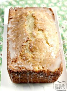Recipes With Crushed Pineapple, Pineapple Desserts, Pineapple Glaze, Pineapple Recipes, Crushed Pineapple Cake, Quick Bread Recipes, Fun Baking Recipes, Banana Bread Recipes, Basic Quick Bread Recipe