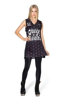 Queen Of Hearts Shooter Dress - LIMITED – Black Milk Clothing
