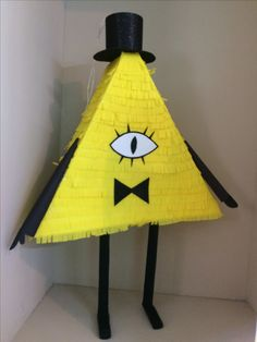 Gravity Falls party, piñata, Bill