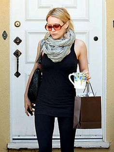 Hilary, love her style.