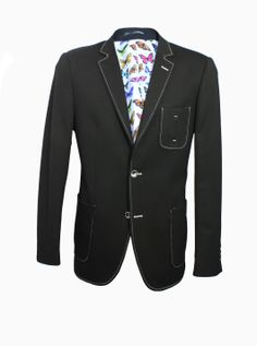 Blazer CL1035 Black  £120  70% Cotton 25% Poly 5% lcyra Beetles lining Double…