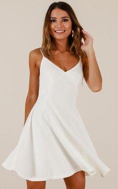 8e11d84d Showpo Last Forever dress in white - 12 (L) Party Dresses