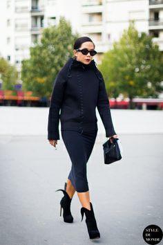 STYLE DU MONDE / Paris FW SS2014: Sarah Chavez  // #Fashion, #FashionBlog, #FashionBlogger, #Ootd, #OutfitOfTheDay, #StreetStyle, #Style