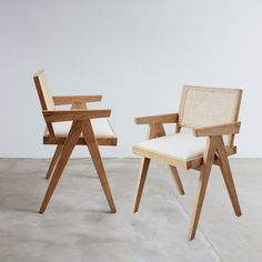Modern Dining Chairs, Outdoor Chairs, Scandinavian Dining Chairs, Scandinavian Modern, Pierre Jeanneret, Planter Table, Seat Pads, Teak Wood, Side Chairs