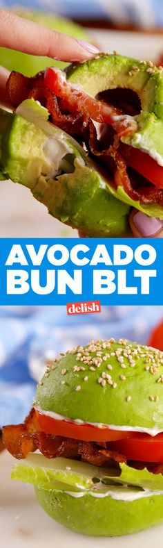 We're Freaking Out Over This Avocado Bun BLT