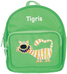 Milan Art to go Zipper Backpack Tiger Green * Click image to review more details. Note:It is Affiliate Link to Amazon.