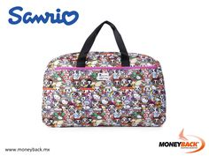 MONEYBACK MEXICO. This supercute and large tokidoki x Hello Kitty overnight bag will help you bring all your travel essentials. It can double as a travel carry-on if you're packing light. The large size of this bag makes it perfect for your everyday needs! Shop in SANRIO Mexico and get a Moneyback tax refund! #moneyback www.moneyback.mx