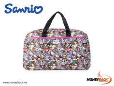 MONEYBACK MÉXICO. Esta increíble y amplia bolsa de viaje tokidoki x Hello Kitty te ayudará a llevar todos tus elementos esenciales de viaje. Se puede doblar como un equipaje de viaje si usted está viajando de forma ligera. ¡El gran tamaño de este bolso lo hace perfecto para tus necesidades diarias! ¡Compra SANRIO en México y obtén un reembolso de impuestos Moneyback! #moneyback www.moneyback.mx