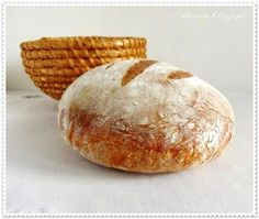chleb pszenny na zakwasie