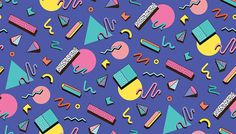 Illustration about Bright template Abstraktne geometric shapes on a blue background. Illustration for hipsters Memphis style. Illustration of fashion, circles, illustration - 67849339 Design Set, 90s Design, Logo Design, Retro Design, Modern Design, Memphis Design, Memphis Art, 90s Pattern, Pattern Design