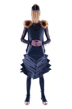 Modelagem 3D E Muito Looks Futuristas Em Coleção De Moda O Blog   The Creators Project