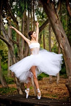 Soaring Ballerina. Can't you see her wings?? Happiness... Dancing.... For me... Truly!!!