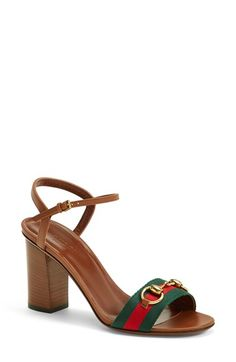 Gucci 'Liliane' Sandal (Women) available at #Nordstrom