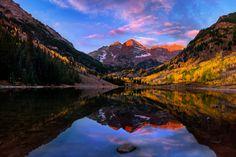 A beautiful autumn morning in Aspen Colorado [20481365] Photograph by John Daniel #reddit