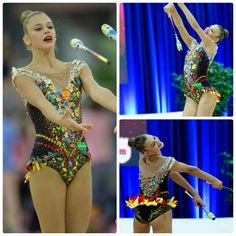 Aleksandra Soldatova (Russia), clubs 2016, leo 1, music: Russian national song (photos by PhotosSportEventos and Pawel S.)