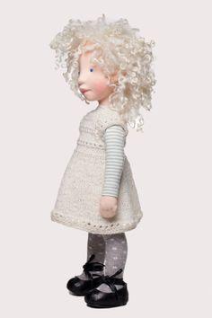 Michaela Handmade cloth doll partial payment от AldegondeCeelen