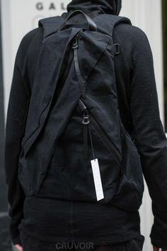 SUS - Sick Urban Streetwear — Sick Streetwear Best place to shop urban fashion:. Monochrome Fashion, Dark Fashion, Minimal Fashion, Urban Fashion, Mens Fashion, Street Fashion, Cyberpunk, Black Backpack, Camera Backpack