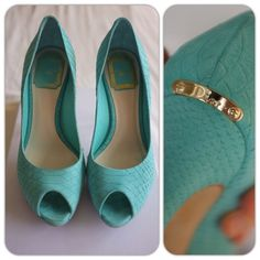 """Authentic Dior peep Toe 10.5cm 512 Aquamarine 100% authentic Miss Dior Aqua Python-print Calfskin Peep Toe Pumps. Only wore a few times. Like new. Luxe calfskin with a python print finish and logo plate at the heel. Self-covered heel, 4"""" (100mm) covered platform, 1/2( 15mm) compares to a 3 1/2"""" heel( 90mm) Leather lining. Buffed leather insole. Padded insole. Made in Italy. NOT for TRADE. Sorries. Price negotiable. Dior Shoes"""
