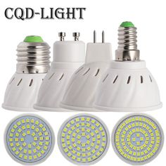 CQD-Light Bombillas led 4W 6W 8W AC 220V /110V SMD 2835LED Spotlight bulbs GU10 MR16 E27 for home Energy Saving Lamp. Yesterday's price: US $1.14 (0.99 EUR). Today's price: US $1.14 (0.99 EUR). Discount: 40%.