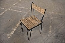 slotted chair | District Millworks