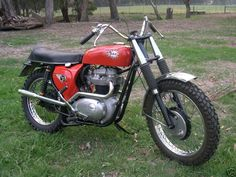 1966 BSA Spitfire Hornet 650...I've always wanted one of these...they were quite popular in the hill climbing circuit-