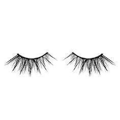 22dd37edad2 Classic False Lashes - Huda Beauty | Sephora Minimum Makeup, Natural Lashes,  Face Skin