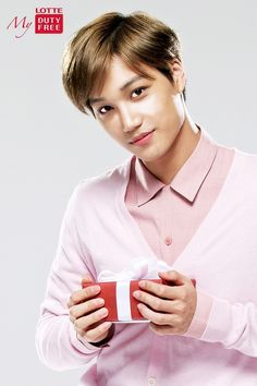 Kai - 141127 Lotte Duty Free website update Credit: Lotte. (롯데면세점)