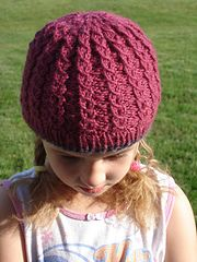 Ravelry: Twilight Angela Weber's La Push Hat (2 versions) pattern by Nancy Fry
