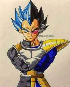 Great fan art!! - Visit now for 3D Dragon Ball Z shirts now on sale!
