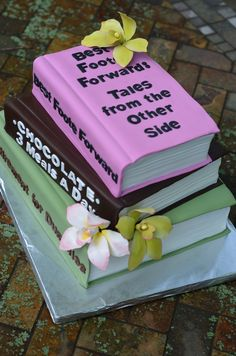 Retirement cake - library book | Retirement cakes, Library ...