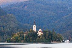 Pristine Water at Lake Bled Slovenia