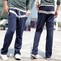Sporty Splice Grey Pants