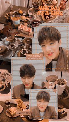Seventeen mingyu Wallpapers Kpop, Seventeen Wallpapers, Kpop Aesthetic, Aesthetic Photo, Mingyu Seventeen, Blackpink Jisoo, Seungkwan, Mood Boards, Aesthetic Wallpapers