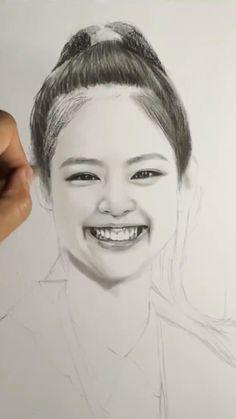 Drawing Jennie Blackpink