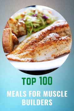 Top 100 Meals For Muscle Builders – Make Muscle, Lose Fat, And Sculpt Your Body With 100 Tempting Recipes And Customized Bodybuilding Meal Programs.  #buildmuscle #losefat #recipes #burnfat #bodybuildingmealplans #absworkout Bodybuilding Meal Plan, Bodybuilding Recipes, Muscle Builder, Tasty, Yummy Food, Top Recipes, Lose Fat, Build Muscle, Meal Planning
