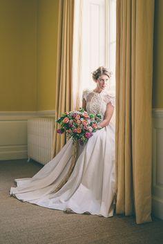 Elmore Court Wedding - Bridal Wedding Dress