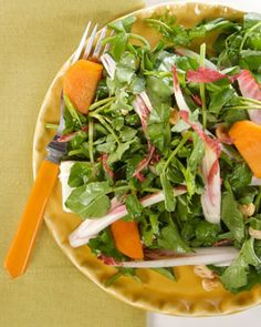 "See the ""Watercress Salad with Persimmons and Hazelnuts"" in our Persimmon Recipes gallery"