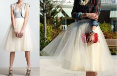 because you never know when you'll need a tulle skirt. DIY Anthropologie tulle karinska Skirt